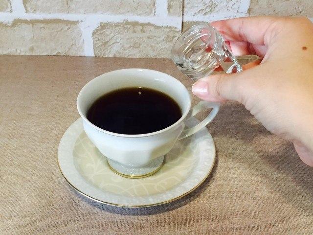 日本酒マシュマロコーヒー_酒を入れる