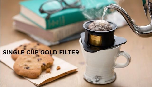Coresが新製品「シングルカップゴールドフィルターC210」の発売を発表