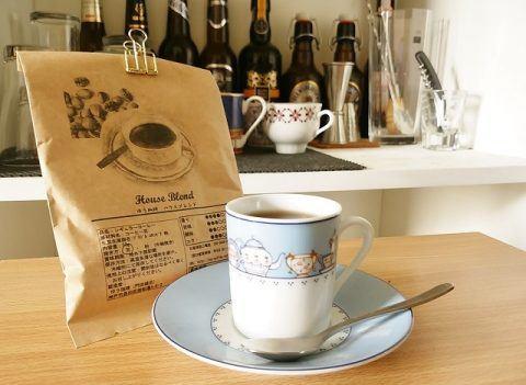 ハウスブレンド コーヒー 480x351