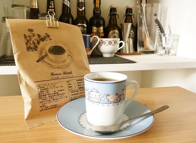 毎日、飲みたくなる「コーヒー豆の通販ショップ ゆう珈琲: ハウスブレンド」