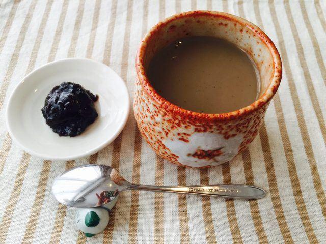 よもぎミルクコーヒー_完成