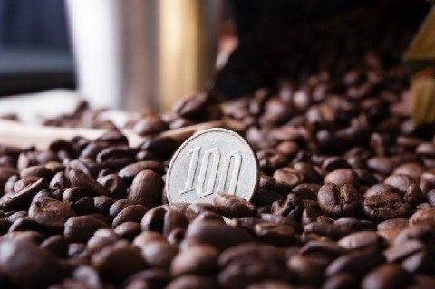 100円 コーヒー豆 480x319