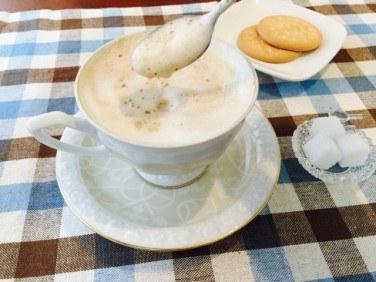 ピーナッツバターミルクコーヒーの作り方【フレーバーコーヒーのレシピ】
