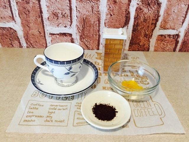 フルーティーシナモンコーヒー_材料