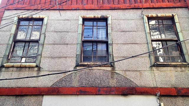 喫茶ペナント_古い建物