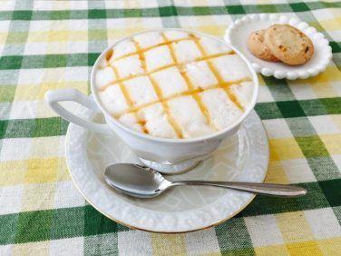 塩キャラメルオレンジラテの作り方【フレーバーコーヒーのレシピ】