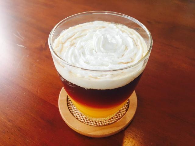 シトラスホイップコーヒーの作り方【フレーバーコーヒーのレシピ】