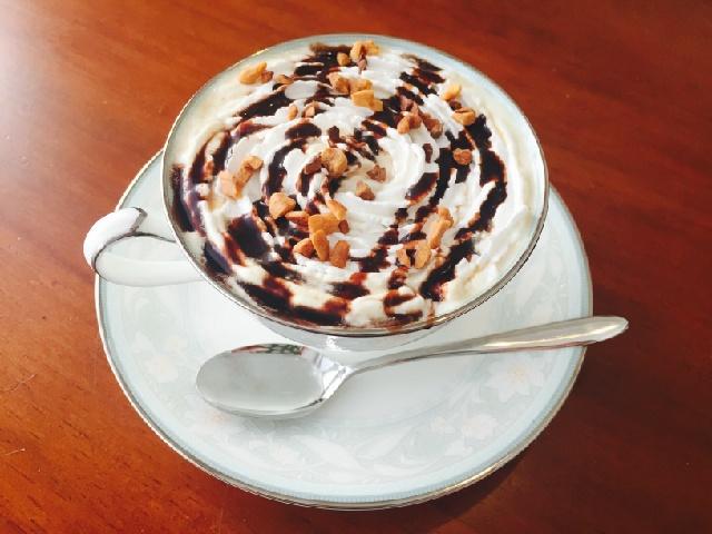 チョコバナナホイップコーヒーの作り方【フレーバーコーヒーのレシピ】