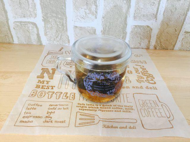 ノンカフェイン玄米コーヒー_5分蒸らす