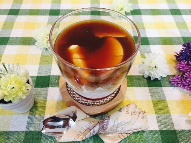 杏仁いちごミルクコーヒーの作り方【フレーバーコーヒーのレシピ】