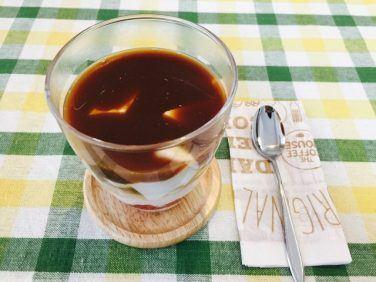 杏仁フルーツミルクコーヒーの作り方【フレーバーコーヒーのレシピ】