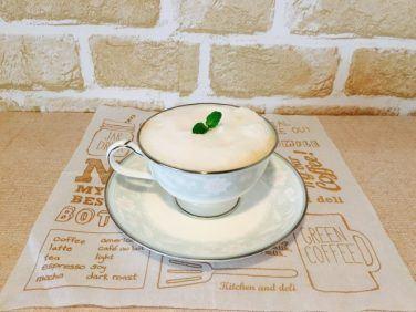 アーモンドミルクミントコーヒーの作り方【フレーバーコーヒーのレシピ】