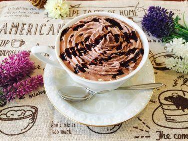 チョコレートウィンナーコーヒーの作り方【フレーバーコーヒーのレシピ】