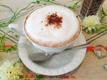フォームドミルクココアコーヒーの作り方【フレーバーコーヒーのレシピ】