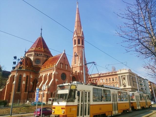 GERBEAUD トラム ハンガリー ブダペスト