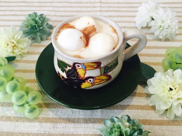 カフェインレスマシュマロシナモンコーヒーの作り方【デカフェのレシピ】