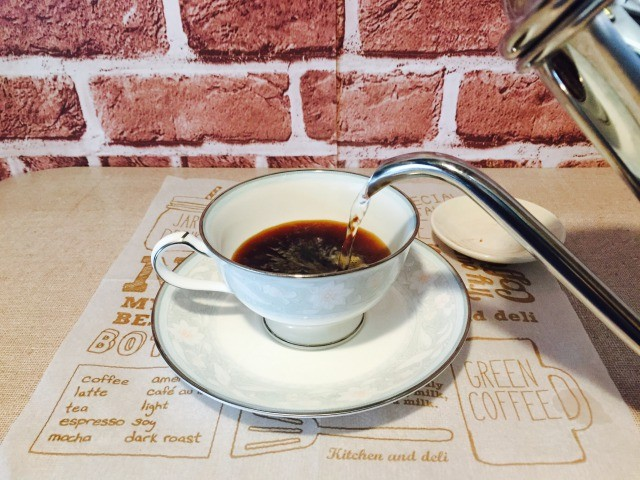 カフェインレスルイボスコーヒー_コーヒーを淹れる