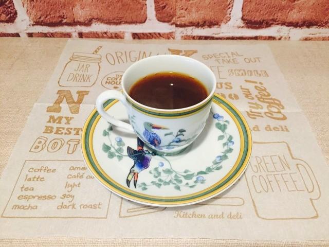 カフェインレス練乳コーヒー_できあがり