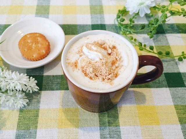 カフェインレス黒糖きな粉コーヒーの作り方【デカフェのレシピ】
