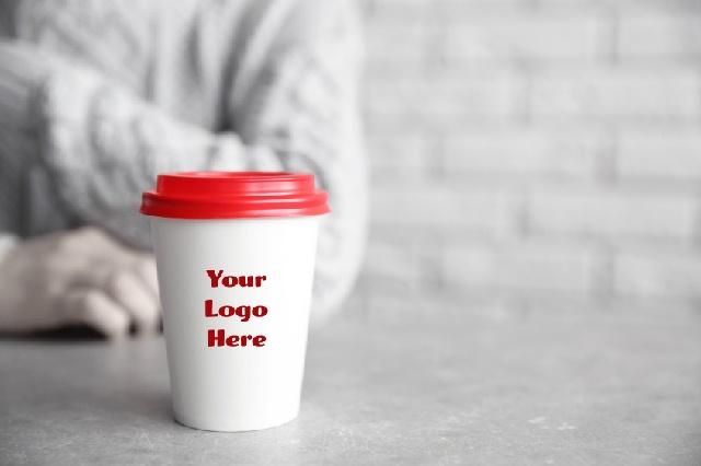 カフェ開業_宣伝方法_ロゴカップ