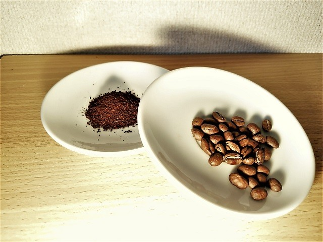 コーヒー豆_保存方法_粉