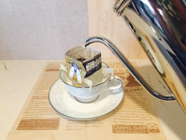 バターミルクコーヒー_コーヒーを淹れる