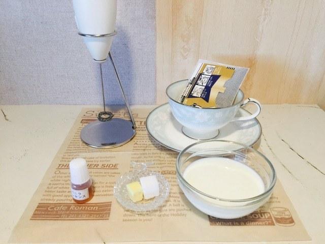 バターミルクコーヒー_材料