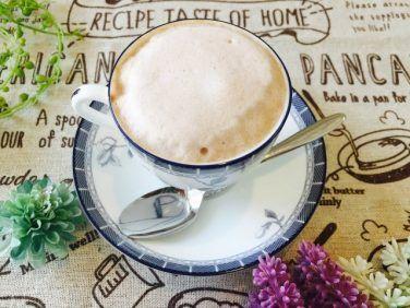 フォームドココアミルクコーヒーの作り方【フォームドミルクのレシピ】