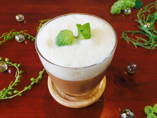 フォームドソイミルクコーヒーの作り方【フォームドミルクのレシピ】