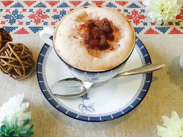 フォームドチョコミルクコーヒーの作り方【フォームドミルクのレシピ】