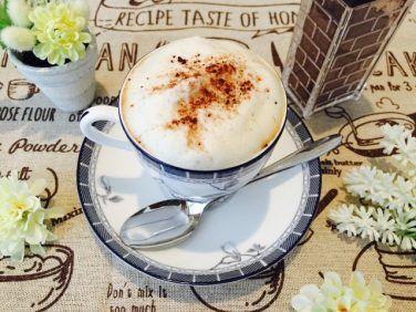 フォームドソイバナナミルクコーヒーの作り方【フォームドミルクのレシピ】