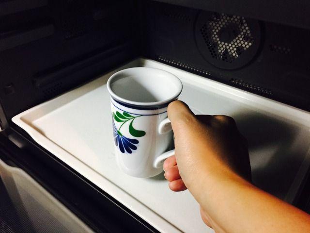 ミルクを温める