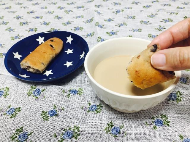 世界のコーヒー_カフェオレ_食べてみた