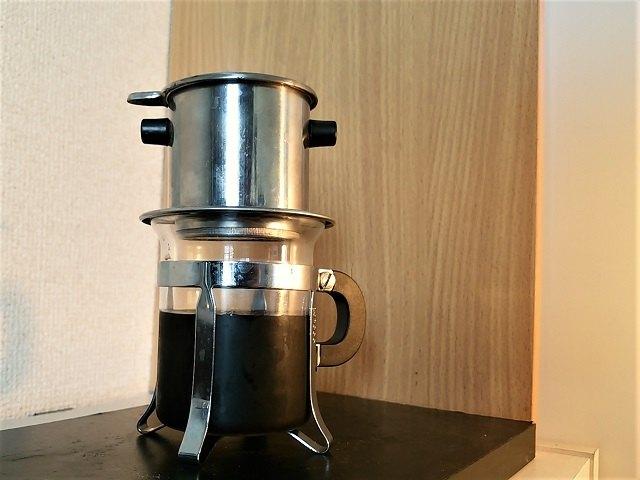 鮮度落ちしたコーヒーの淹れ方_ベトナム