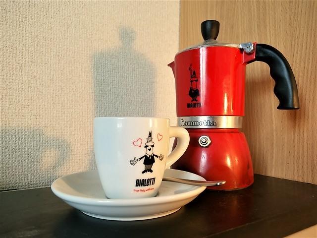 鮮度落ちしたコーヒーの淹れ方_マキネッタ