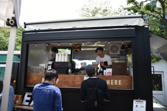 Japan Aeropress Championship food truck