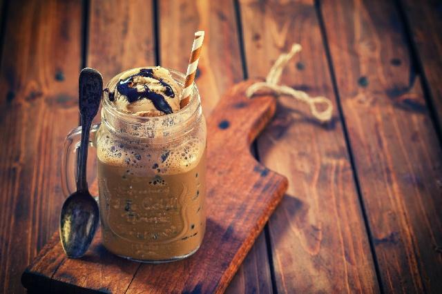 アイスコーヒー_カスタム_アイスクリーム