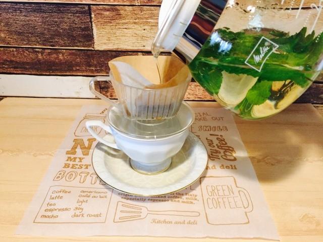 カフェインレスミントコーヒー_材料