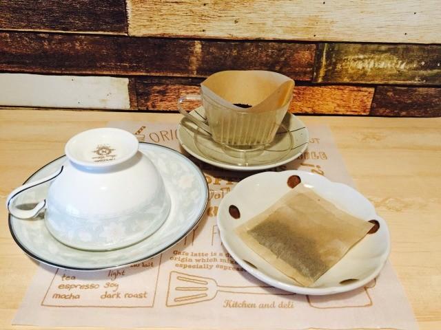 カフェインレス玄米コーヒー_材料