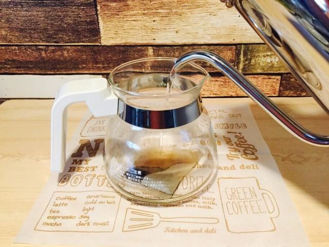 カフェインレス玄米コーヒー_玄米茶を作る