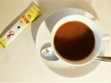 クリープを使ったコーヒーの飲み方