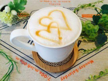 フォームドキャラメルミルクコーヒーの作り方【フォームドミルクのレシピ】