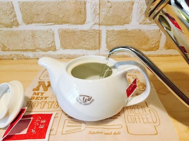 同時に紅茶も作る