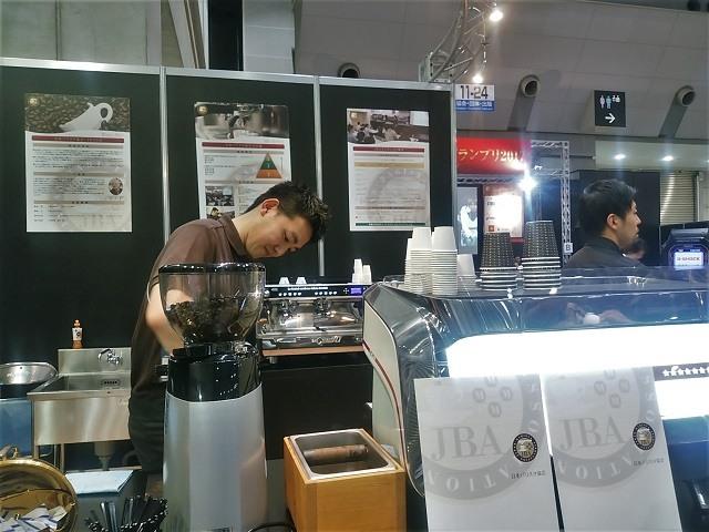 TOKYO CAFE SHOW バリスタ試飲
