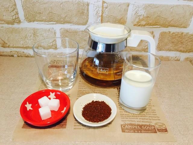 カフェインレス麦茶コーヒー_材料