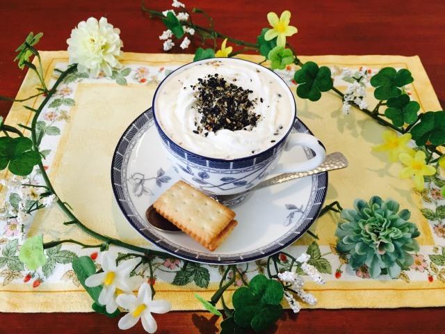 カフェインレス黒ごまコーヒーの作り方【デカフェのレシピ】