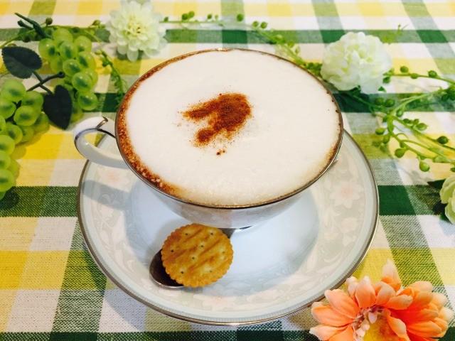 スパイシーフォームドミルクコーヒーの作り方【フォームドミルクのレシピ】