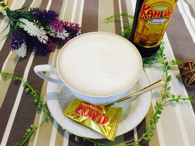 フォームドカルーアミルクコーヒーの作り方【フォームドミルクのレシピ】