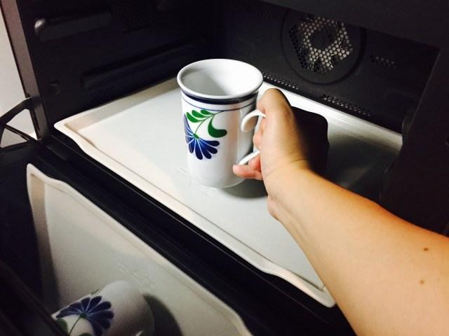 フォームドココナッツミルクコーヒー_ココナッツミルクを温める