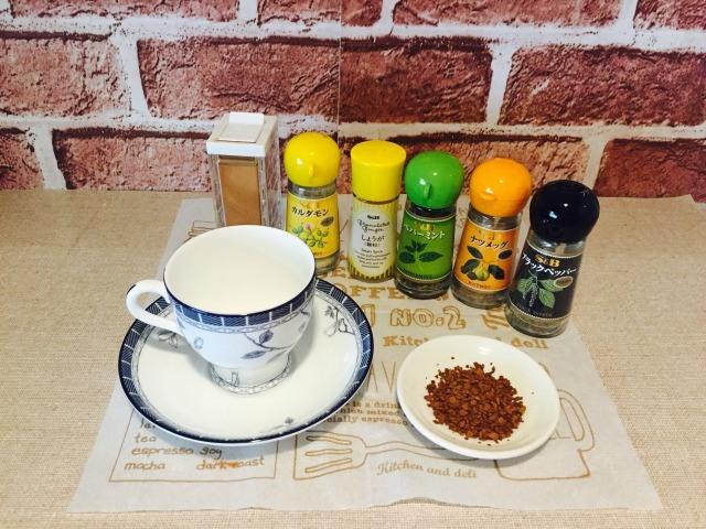 モロッココーヒー 材料